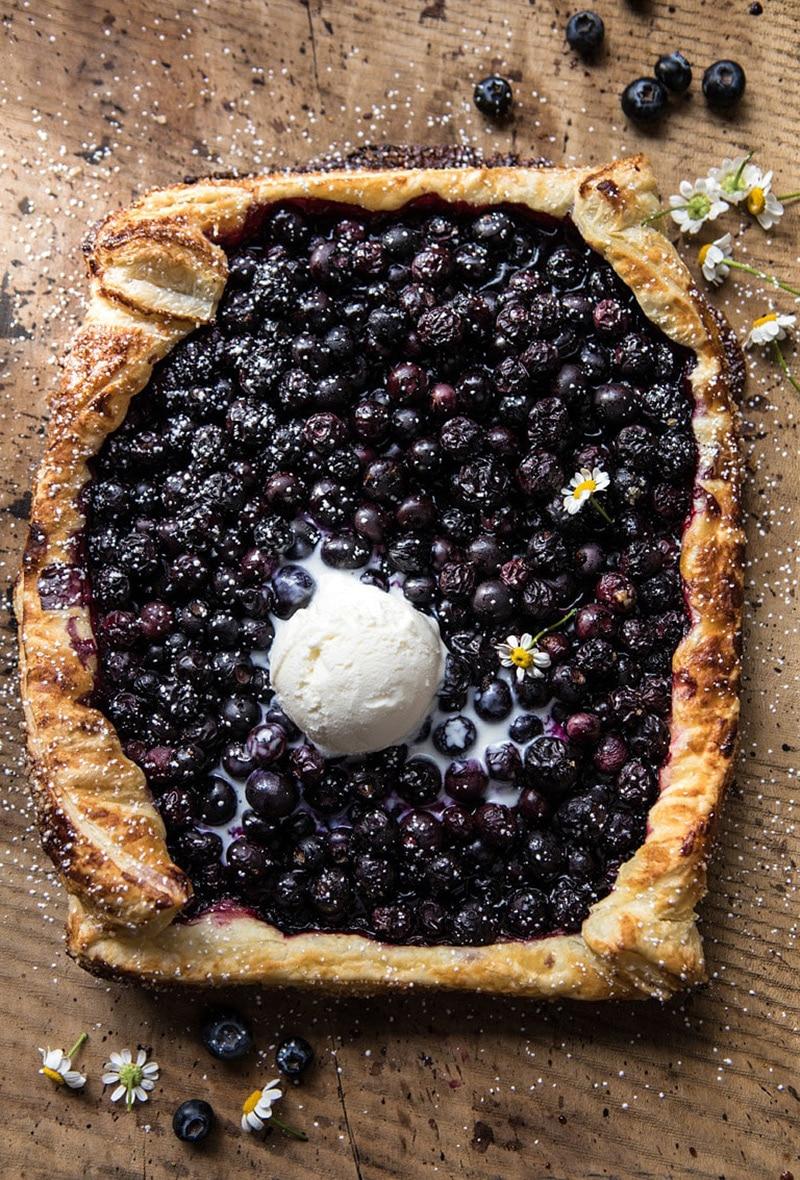 Blueberry-Ricotta-Chamomile-Galette