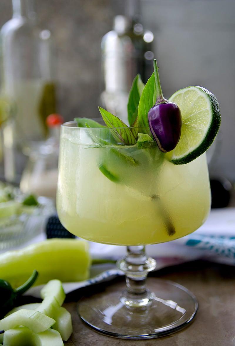 Spicy-Thai-Basil-Cucumber-Cocktail