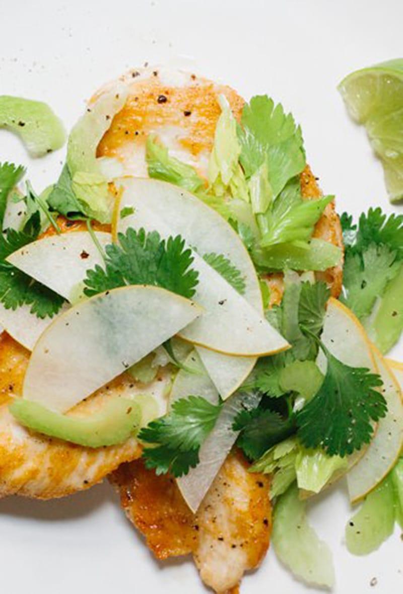 chicken-paillard-with-asian-pear-salad