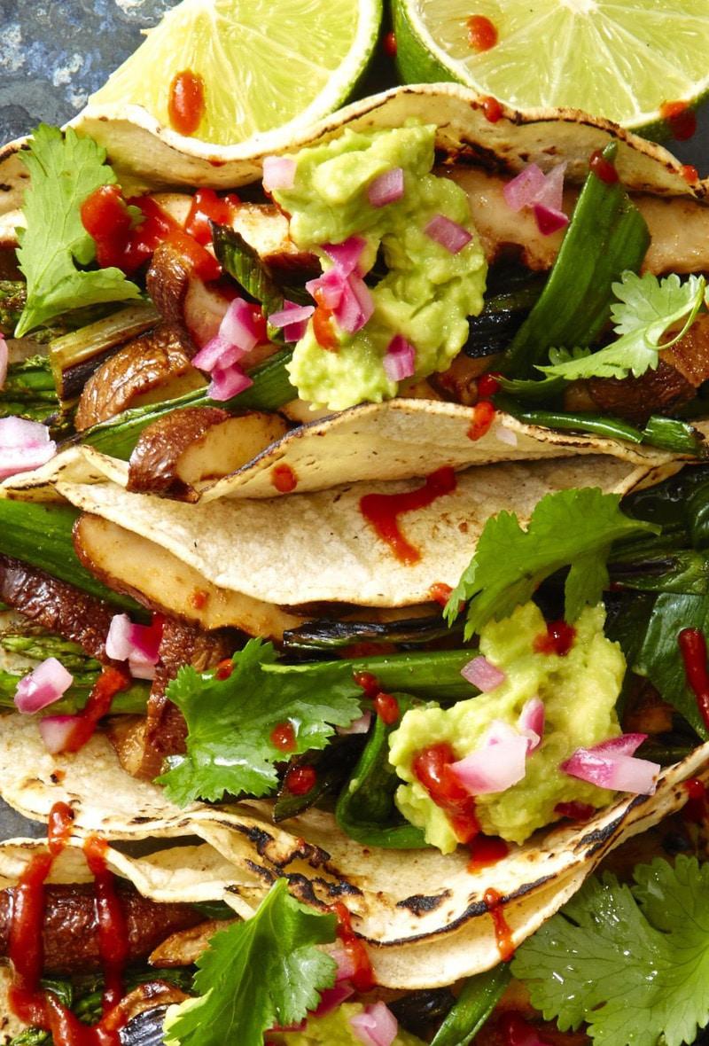 Asparagus-and-Mushroom-Tacos